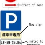 Estacionamiento Exclusivo para Personas de la Tercera Edad, Gestantes e Incapacitados