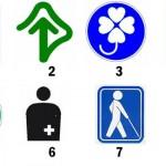 Usted conoce estos símbolos? (生活の様々なマーク)