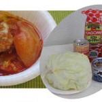 Informaciones útiles en caso de emergencia: como preparar alimentos? [Cavalla enlatada en salas de tomate]