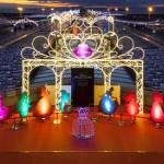 """Iluminación 2014 en el 10o Aniversario de Centrair con el tema: """"Disney Princess Dream"""""""