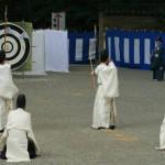 Ritual de Año Nuevo en Atsuta jingu(熱田神宮の正月神事)