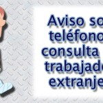 Aviso sobre teléfono de consulta para trabajadores extranjeros  (外国人向け労働相談ダイヤル)