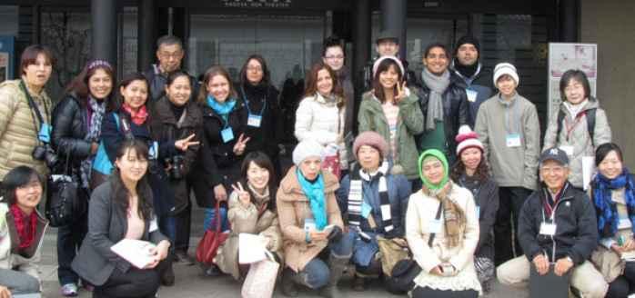 """NIC International Exchange """"Walking"""" 2015 ng Taglagas~Mula sa Nagoya International Center hanggang Noritake no mori~(NIC国際交流ウォーキング2015 秋)"""
