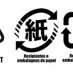 Campanha sobre separação de lixo reciclável