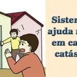 Sistema de ajuda mútua em caso de catástrofe