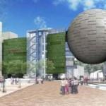 """Bảo tàng Khoa học Nagoya City """"Planetarium và buiding mới """""""
