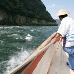 Đi thuyền trên sông Kiso!